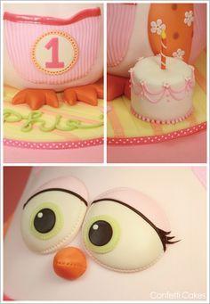 3D Owl Cake by Elisa Strauss