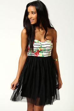 #boohoo                   #Skirt                    #Laura #Bandeau #Skirt #Dress                       Laura Bandeau Net Skirt Dress                                                 http://www.seapai.com/product.aspx?PID=426149
