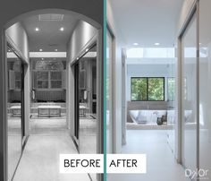Master Bathroom Remodel -Cocoplum Contemporary Oasis Residential Interior Design Project in Coral Gables, Florida by DKOR Interiors