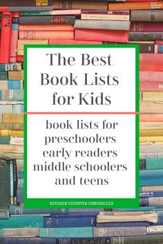 We've gathered all of our amazing books lists for kids in one spot. Looking for a great book for kids? You'll find books for early readers, books for middle schoolers, books for teens and more. #booklist #booksforkids #booksfortweens #earlyreaderbooks #booksformiddleschooler #kitchencounterchronicles Reading Themes, Reading Activities, Reading Skills, Movies For Tweens, Books For Tweens, Best Books List, Book Lists, Children's Books, Good Books
