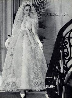 Dior Wedding Dress, 1964
