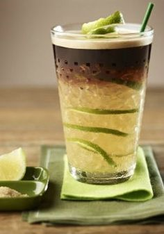 Caipirinha Coffee | Sweet and zesty combine in this delicious lemon iced coffee recipe. This appetizing drink recipe is bursting with the seasonal summer flavors you adore. Click here for the full tutorial on how to create this amazing creation.