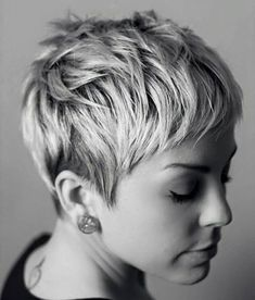 35 Messy Short Pixie Cuts, Short pixie hair styling can be regarded as a distinctive talent. Especially, when it comes to short messy pixie haircuts, it appears awesome whenever…, Pixie Cuts Previous Post Next Post Messy Pixie Haircut, Short Pixie Haircuts, Short Feminine Haircuts, Feminine Pixie Cuts, Pixie Bangs, Short Haircuts, My Hairstyle, Cool Hairstyles, Black Hairstyles