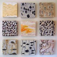 Saatchi Online Artist Natalie L; Painting, Ecorces #2 #art