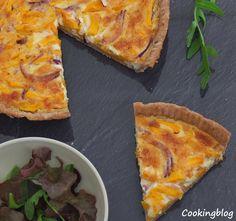 Cooking: Tarte de abóbora manteiga e parmesão | Butternut squash and parmesan tart