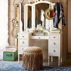Junk Gypsy Antique Vanity #pbteen