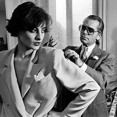 Nos anos sessenta Gaby Aghion, fundadora da Chloé, inovou o mercado ao contratar um jovem estilista: Karl Lagerfeld. Ele ficou 22 anos na marca.