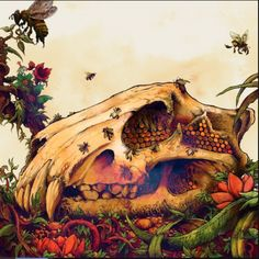"Earth's ""The Bees Made Honey in the Lion's Skull"" by Arik Roper"