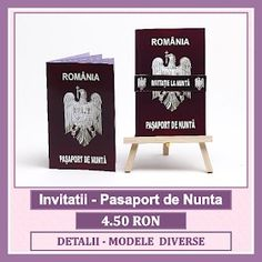 Invitatii nunta personalizate, unicat, marca bebestudio11. Cards, Maps, Playing Cards