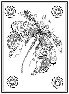 The Green Lady's Zen Henna Colouring Book: Gwen Davies: 0700461593140: Amazon.com: Books