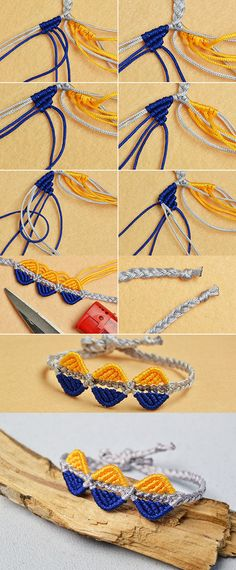 Wanna this braided friendship bracelet?The tutorial will be published by LC.Pandahall.com soon.