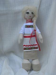 Ukrainian traditional doll. Cloth doll. Sold