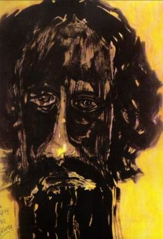 Self-portrait by Tagore