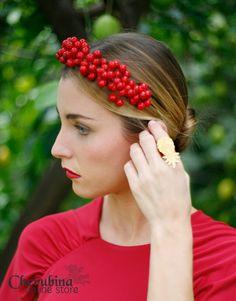 Berries | Cherubina - Moda, tocados y mucho más