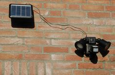 LED spots buiten op zonne energie