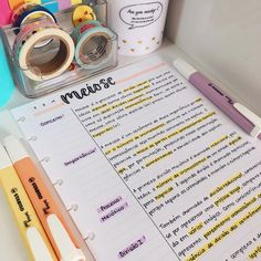 Notebook Organization, School Organization, School Motivation, Study Motivation, Studyblr, Earth Science Projects, Study Flashcards, Bullet Journal Notes, Student Planner