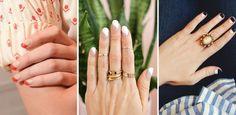 Nail art geométrica:  80 fotos para dar Ctrl C   Ctrl V!