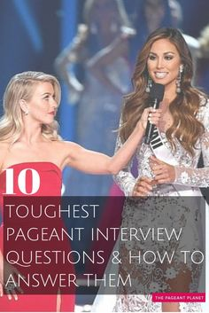 We've seen the blunders live on stage when a contestant pulls a question but they have no idea how to answer it. Teen Pageant, Pageant Tips, Miss Pageant, Pageant Dresses For Teens, Pageant Makeup, Pageant Hair, Pageant Gowns, Beauty Pageant, Pageant Interview Questions