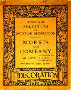 Morris and Company, c. 1912.  From the Association for Preservation Technology (APT) - Building Technology Heritage Library, an online archive of period architectural trade catalogs. It contains thousands of catalogs. Select your material and become an architectural time traveler as you flip through the pages. This original catalog comes from the collection of the Canadian Centre for Architecture.