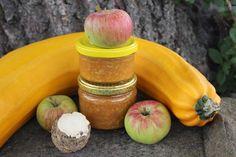 Cuketové čatní s křenem a jablky