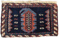 101. Small Afshar chanteh (purse). Late 19th c.
