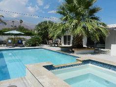 Palm Springs House Rental: Book Now 2014 1mile To Dt/remodeled/mt. Views/new Pool, Spa, Firepit | HomeAway
