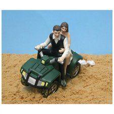 ATV Camo Wedding Cake Topper $55.99