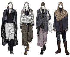 Fashion Illustrator Mengjie Di - amazing details!