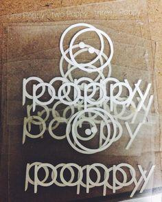 #logo #design Poppy, Logo Design, Instagram Posts, Decor, Decoration, Decorating, Poppies, Deco