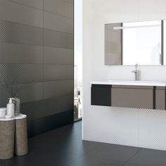 Grespania Club Plata & Club Blanco. Part of the Lord Collection available from Tiles and Bathrooms Online...