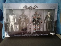 New DC Collectibles Batman: Arkham Origins: Action Figure 4-Pack: $150.00 End Date: Wednesday Apr-11-2018 14:10:01 PDT Buy It Now for only:…