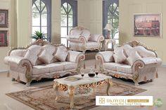 set kursi sofa tamu mewah ukir klasik