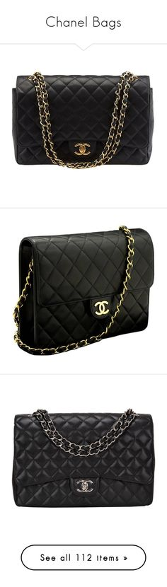 """Chanel Bags"" by maine-loyola ❤ liked on Polyvore featuring bags, handbags, shoulder bags, pre owned handbags, chanel, shoulder handbags, quilted leather handbags, quilted purses, clutches and carteras"