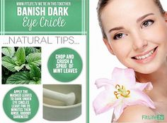 Banish Dark Eye Circles! :)