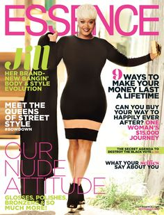 Jill Scott Goes Blonde For The Cover Of Essence And Kills It  Read the article here - http://www.blackhairinformation.com/general-articles/celebrities/jill-scott-goes-blonde-cover-essence-kills/ #JillScott #essencemagazine #coverofessence #Jillasdeedee #jamesbrownbiopic