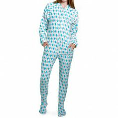 On the 5th day of Christmas #Ellen gave to me!! Well its too bloody hot to wear them but seriously they're from the #Ellenshop - ARGYLE ADULT ONE-PIECE PAJAMA