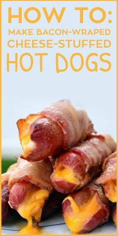 How To: Make Bacon-Wrapped Cheese-Stuffed Hot Dogs