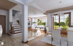 Projekt Julka - zdjęcie od MG Projekt Projekty domów - Schody - Styl Tradycyjny - MG Projekt Projekty domów