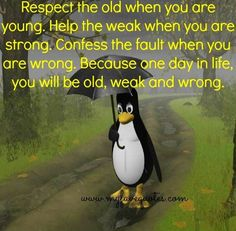 Respect For Old People