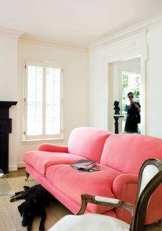 sofa pink