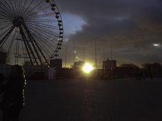 DSC00098- Sunset in Le Havre, Normandie, France