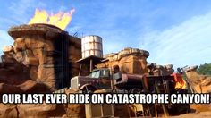 We took one final ride on Catastrophe Canyon, part of the Studio Backlot Tour at Walt Disney World's Hollywood Studios! Catastrophe Canyon opened with the pa...