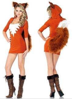 Sexy Adult Fox Cosplay Costume Women Halloween Party Charming Fox Costumes Outfit Fancy Animal Corest Cosplay With Broadclothtail Uniforms Online Halloween Costumes Cool Group Costumes From Sakura0821, $26.52| Dhgate.Com