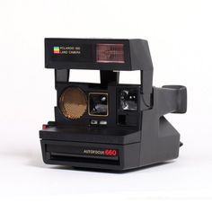 Refurbished+Sun+660+Instant+Camera,+Black+by+Impossible