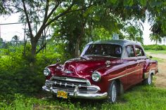 Parking on the beach at Trinidad, Cuba on Mallory on Travel adventure photography