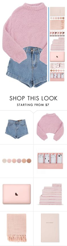 """""""Pink."""" by pineapples-2 ❤ liked on Polyvore featuring Chicnova Fashion, Lala Berlin, Deborah Lippmann, Surya and Kate Spade"""
