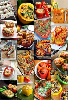 101 Stuffed Pepper Recipes - Although the traditional filling for stuffed bell peppers is ground beef and rice, creative fillings for bell peppers are in style. From Cordon Bleu Stuffed Peppers to pizza and taco fillings galore, these 101 Stuffed Peppers have all your favorite trends covered.