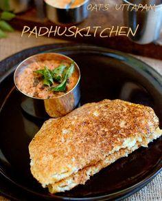 Oats Uttapam-How to make Oats Uthappam-Oats Oothappam-Healthy Breakfast Recipe