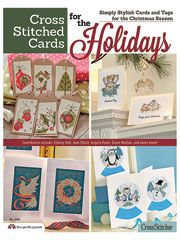 This looks like way fun :D   Card Paper Crafts - Cross-Stitched Cards for the Holidays - #430956