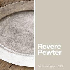 Revere Pewter Benjamin Moore HC-172